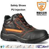 Chaussures de fonctionnement en acier industrielles de constructeur de chaussures de sûreté de chapeau de tep de mode