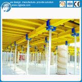Molde modular concreto da construção da tabela