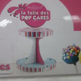 Sostenedor de papel de Cakepop para el sostenedor de la visualización de 28 Cakepops