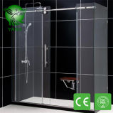 304 Stainless Steel Hardware Round Style Simple Shower Room
