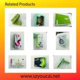 Caja de embalaje impresa aduana del papel cosmético del color
