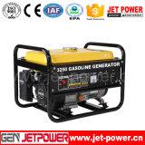 2500W générateur électrique électrique d'essence de l'énergie 220V avec du ce