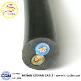 Câble d'alimentation utilisé par construction de cuivre du conducteur XLPE