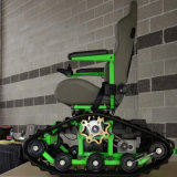 녹색 휠체어 Zyw-130를 위한 작은 고무 학력별 반편성