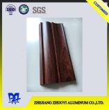 Profils d'alliage d'aluminium de qualité pour les portes en aluminium avec la surface en bois