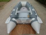 Het Materiaal die van pvc Hull van Ce de Opblaasbare Boot van de Sport vouwen