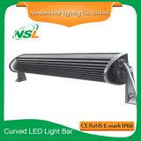 L'éclairage LED bon marché incurvé de barre d'éclairage LED de la barre DEL Epistar 12inch d'éclairage LED barre la barre extérieure d'éclairage LED de la lumière d'inondation de DEL 72W
