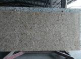 Pedra artificial branca de quartzo para telhas da bancada, da parede & de assoalho
