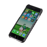 La última nueva caja de la fibra del carbón del protector de la pantalla de la llegada para el caso del iPhone 6
