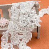 Merletto del collare di disegno del collo del ricamo per la tessile del merletto di Churidar