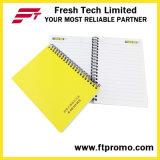 Caderno relativo à promoção com seu logotipo