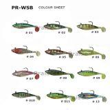 Künstlicher Plastikköder Fotorezeptor-Wsb mit Haken-Weiche-Phasenfischen-Köder