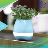 Haut-parleur sec de bac de fleur de musique du haut-parleur DEL Bluetooth de Bluetooth pour la décoration de Home Office