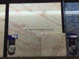 建築材料のピンクカラーフォーシャンの自然な大理石の石造りの床タイル
