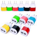 Handy-Zubehör-Hersteller 5V2.1A verdoppeln USB-Arbeitsweg-Wand-Aufladeeinheit