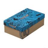 Caisse d'emballage estampée par couleur de cadre de chaussures pour des chaussures