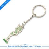 Corrente chave do metal/anel personalizados venda por atacado para o presente