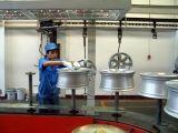 Automatische Puder-Spray-Beschichtung-Maschine für Rad-Nabe