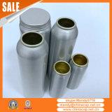 frasco 150ml de alumínio de prata com o tampão de parafuso para cápsulas dos cuidados médicos