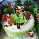 Special lindo y hermoso del regalo del chocolate de la historieta para el amante y los niños