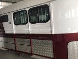 Flotteur de cheval de chargement de cornière de chevaux de la qualité deux/remorque de cheval entièrement personnalisable