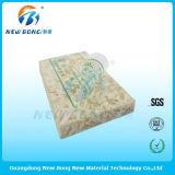 Pellicules de polyéthylène transparentes de logo d'impression pour le marbre