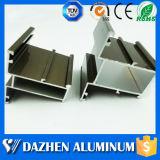 La mejor calidad de polvo de aluminio recubierto de perfil para ventanas y puertas