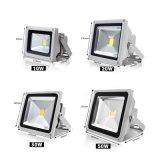 la luz de inundación de 10W 20W 30W 50W LED RGB IP65 impermeabiliza la reflexión al aire libre AC85-265V de la lámpara LED de la iluminación con focos de la colada de la iluminación LED