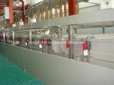 Machine d'enduit automatique manuelle de poudre pour le matériau de construction