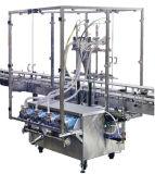 Bouteille de pétrole linéaire traitant la machine à étiquettes de machine de remplissage