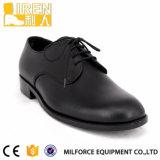 Heet verkoop de Goedkope Schoenen van het Leger van de Ambtenaar van de Veiligheid van de Prijs Zwarte