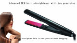 Raddrizzatore veloce dei capelli con il generatore dello ione
