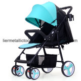Цветастые маленькие милые прогулочные коляски младенца