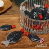 Sojasoße für japanische Sushi im Quetschkissen