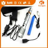 электрофонарь продуктов 800lm перезаряжаемые Xml T6 самозащитой ультра яркого факела 10W Xml T6 СИД личный