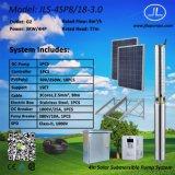 насос нержавеющей стали 3.0kw 4inch, солнечная система DC погружающийся