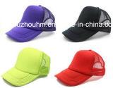 Tampão do chapéu da rede do condutor de camião da cor fluorescente