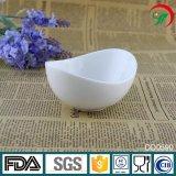 Plaque en céramique de porcelaine de plaque d'hôtel de vaisselle de cuisine de vaisselle