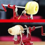 De multifunctionele HandAppelboor van de Snijmachine van het Schilmesje van de Appel met het Verwijderbare Roestvrije Roestvrij staal van het Blad en van de Beschermer voor Scherpe de Pastei van het Baksel van de Oogst van de Boomgaard
