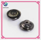 Personnaliser les boutons de denim de bouton de jeans en métal de logo de résine