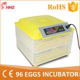 Incubateur chaud de 2015 oeufs de la vente 96 pour l'incubateur Yz-96A de poulet