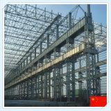 Edificio modular de la estructura de acero para el taller o Wareouse
