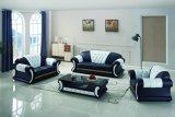 Sofá luxuoso do couro da mobília de France do projeto original moderno