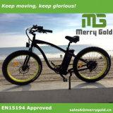 Bicicleta elétrica gorda de venda quente da neve 2017 para o europeu