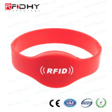 無接触RFID IP68の時計バンドの札のシリコーンのリスト・ストラップ