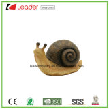 Figurita popular de la rana Polyresin para el hogar y el jardín decorativos