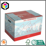 Caixa de empacotamento de papel entalhada regular forte do cartão do Rsc da caixa