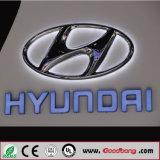 고품질 LED 차 로고와 편지 표시