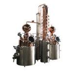 Hoe te om de Schotse Ierse Distilleerderij van de Machine van de Distillatie van de Whisky nog te maken Geesten huisvesten