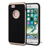iPhone аргументы за телефона PC TPU панцыря Motomo 3in1 почищенное щеткой гибридом